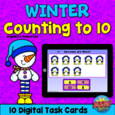 Winter Theme Counting 1-10 Boom Cards™- Counting to 10 - A