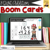 BOOM Cards-3 Digit Addition Digital Task Cards