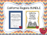 California Regions BUNDLE {Reading Passages and Writing/Ac