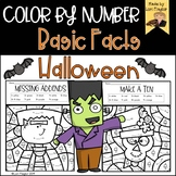 Color By Number- Halloween Edition Basic Facts
