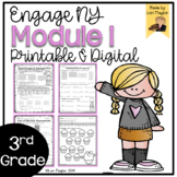 Engage NY Grade 3 Module 1 Supplemental Printables and Digital Resource