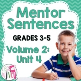 NONFICTION Mentor Sentences: Vol 2, Fourth 10 Weeks (Grades 3-5)