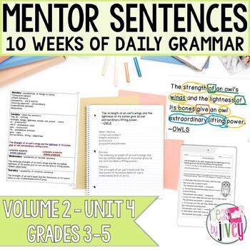 NONFICTION Mentor Sentences: Vol 2, Fourth 10 Weeks (Grades 3-5)