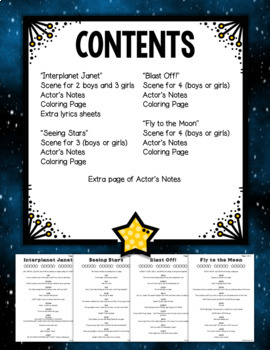 Reader's Theater - Outer Space Theme Scenes and Skits