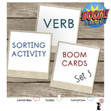 Verb BOOM Cards™ Sorting Activity : Set 3