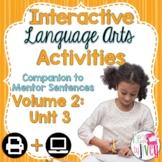Interactive Language Arts Activities Companion: Volume 2,