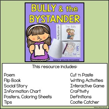Anti-Bullying Activities BUNDLE 1