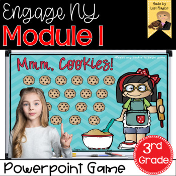 Engage NY Grade 3 Module 1 Interactive Math Game by Lori Flaglor