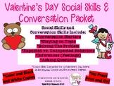 Valentine's Day Social Skills & Conversation Skills Packet