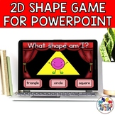 Shape Recognition Interactive Powerpoint Game