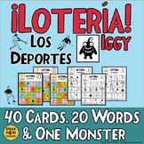 50% OFF for Early Buyers! Spanish Sports Bingo. Lotería de los Deportes