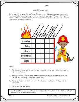 Fire Prevention Week Activities