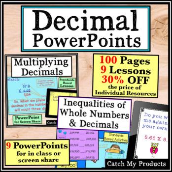 Decimals CCSS