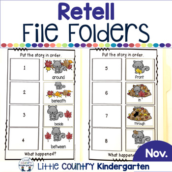 Fall Adapted Books: Prepositions