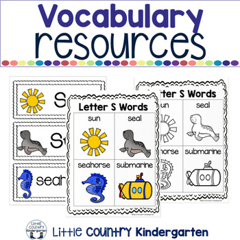 Alphabet Adapted Books: Letter S