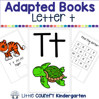 Alphabet Adapted Books: Letter T