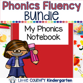 Phonics Fluency Passages & Interactive Notebook Strips Gro