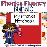 Phonics Fluency Passages & Interactive Notebook Strips Growing Bundle