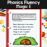 Reading Fluency Passages: Phonics Month of Magic E or Split Digraphs