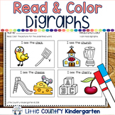 Read and Color Worksheets: Digraphs