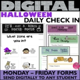 Daily Check In HALLOWEEN