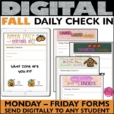 Daily Check in Fall