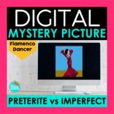 Preterite vs Imperfect Digital Mystery Picture   Flamenco