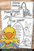 Easter Activities, Finger Plays, Spring Coloring Pages, Sp