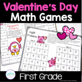 Valentine's Day Math Games for First Grade
