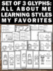 All About Me Glyphs Back to School Activities for 1st 2nd