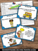 All About Me Games SCOOT, Getting to Know You Back to School Activities