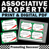 Associative Property of Addition Task Cards 3rd Gr Math Distance Learning Packet