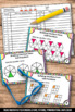 Building Fractions from Unit Fractions 4th Grade Task Card
