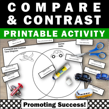 Compare and contrast activities venn diagram cut and paste graphic compare and contrast activities venn diagram cut and paste graphic organizer ccuart Gallery