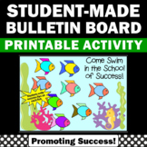 Fish Bulletin Board for End of the Year or Back to School
