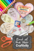 End of the Year Memory Book, Foldable Interactive Notebook Craftivity