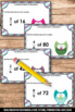 Fraction Task Cards 4th Grade Math Review Multiplying Fractions by Whole Numbers