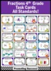 Fractions Bundle 4th Grade Math CCSS ALL Standards Games &