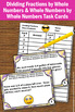 Dividing Fractions Word Problems Task Cards 5th Grade Comm