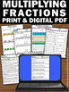 Multiplying Fractions with Visual Models Worksheets