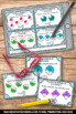 Fractions as Multiples of Unit Fractions Task Cards, 4th Grade Math Review Games