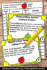 Fraction Word Problems Task Cards, 5th Grade Math Review Games & Activities