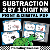 Subtraction Without Regrouping SCOOT 1st Grade Math Centers Games