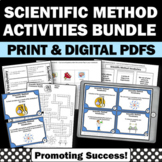 Scientific Method Activities BUNDLE Task Cards, Foldable Interactive Notebooks