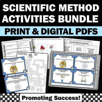 Scientific Method BUNDLE of Back to School Activities