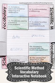Scientific Method Foldable Activities, Scientific Method Interactive Notebook