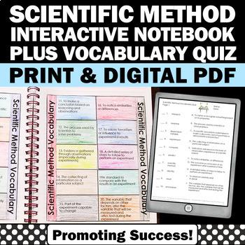Foldable Scientific Method Activity For Scientific Method Interactive Notebook