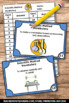 5th 6th Grade Scientific Method Task Cards, Back to School Science Activities