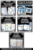 Weather & Types of Clouds Earth Science Center BUNDLE of A