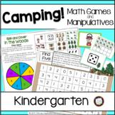 Camping Classroom Theme Math Games and Manipulatives